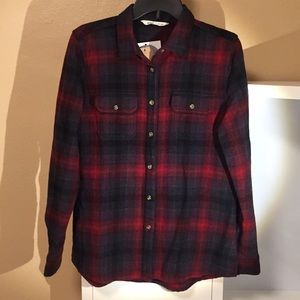Woolrich women's wool shirt